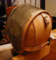 Leather Back Plate